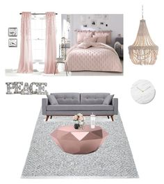 """Untitled #9"" by michele204 on Polyvore featuring interior, interiors, interior design, home, home decor, interior decorating, Pappelina, Pottery Barn, Grandin Road and Zuo"
