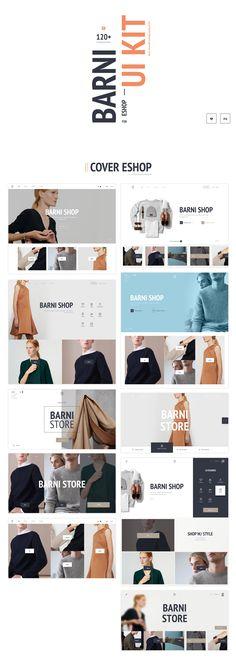 UI8 — Products — Barni UI Kit for Eshop