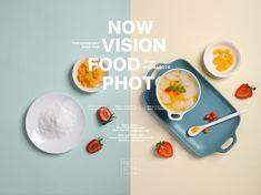 谷物Grain on Behance Food Web Design, Food Graphic Design, Restaurant Poster, Food Banner, Logo Food, Editorial Design, Drink Photo, Food Styling, Food Art