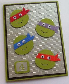 Cute card for a boy