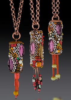 Betsy Youngquist latest creations of sculptural jewelry by Betsy Youngquist