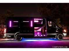 Used 2012 Mercedes-Benz Sprinter Van Limo Limos by Moonlight - Santa Clarita, California - $77,290