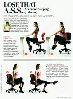 work it out exercises stretches for the office nutrition