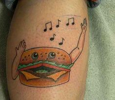 14. Cheeseburger in Paradise | 29 Truly Terrible Tattoos
