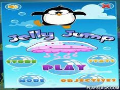 Jelly Jump  Android Game - playslack.com , Jelly Jump. an absorbing game with a leaping  penguin is waiting for you. The voyage with the penguin just begins. You have to govern him through different structures to meet the stars, getting over deradful foes and accumulating  wealths. You will have to jump over throbbing siphonophore, soft clouds and space equipment. accumulate bonuses and enhance your abilities. struggle the machine left or right to move the penguin. purchase the power-ups in…
