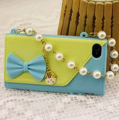 Leather Handbag Phone Case PU Bag Cover for iPhone