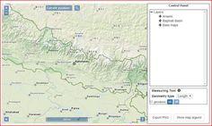 Entwicklung eines WebGIS für Umweltdaten von Nepal