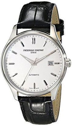 3fa5f9a4226  389 • 40mm • Frederique Constant Men s FC303S5B6 Index Analog Display Swiss  Automatic Watch Swiss