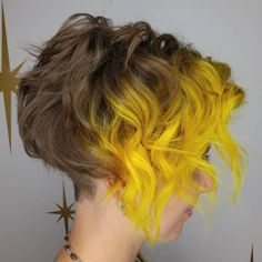 Curly Pixie Bob Hairstyle