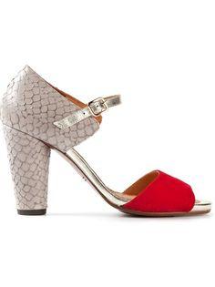Chie Mihara 'Jada' Bi-Colour Sandals