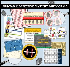 Awesome DIY spy party games and secret agent themed activities that you can use to make your child& spy party a blast! Spy Kids, Mystery Games For Kids, Group Games For Kids, Games For Teens, Geheimagenten Party, Diy Party Games, Clue Party, Ideas Party, Party Crafts