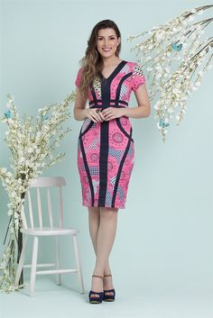 Vestido Bella Herança 5703