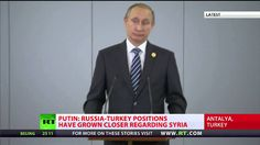 PUTIN : ISIS Financed From 40 Countries - Inc (NATO Members) - FULL SPEECH