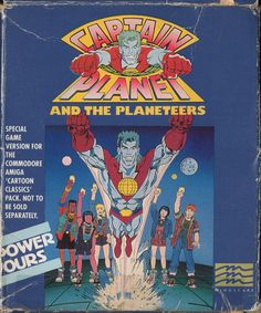 Captain Planet and the Planeteers (Amiga) #commodore #90s