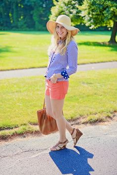 4th of july outfit inspiration || Sparkling Footsteps || A Connecticut Based Life & Style Blog || #4thofjuly #outfit #inspiration #redwhiteandblue