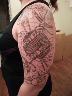 Tattoo! (Outline done, shading to come)