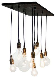 Small Urban Chandelier eclectic chandeliers