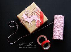 Tuto : Emballage cadeau DIY