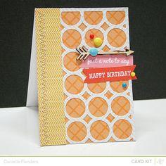 Studio Calico SPENCER's Card Kit - card by Dani