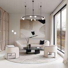 Home Interior Entrance .Home Interior Entrance Living Room Inspo, Furniture Design, Luxury Living Room, Living Room Designs, Home Decor, Minimalist Interior, House Interior, Room Design, Apartment Interior