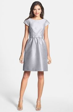 f217be6fda3 Alfred Sung Woven Fit  amp  Flare Dress available at  Nordstrom Alfred  Sung