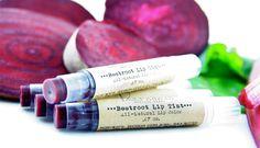 Beetroot Lip Tint  All-Natural  Tinted Lip Balm  by Treesnail