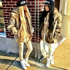 Beauty #style #fashion #fur #girls