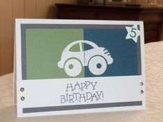 Cars are for little boys by cats cards - Cards and Paper Crafts at Splitcoaststampers