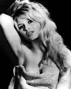 The lovely Brigitte Bardot. Smart, beautiful and an animal rights activist!