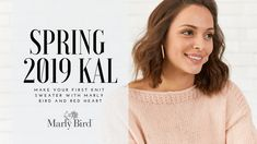 Announcing the 2019 Spring KAL with Marly Bird and Red Heart - Marly Bird™ Finger Knitting, Loom Knitting, Free Knitting, Dishcloth Knitting Patterns, Knit Dishcloth, Crochet Patterns, How Do You Knit, Project Mermaid, Crochet Angels