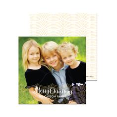 Wish your family joy and love with our personalized holiday cards! Tons of colorful options to choose from!