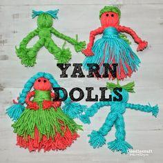 Yarn Dolls! (Doodle Craft...)