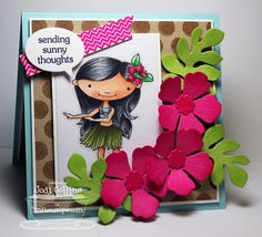 Sending Sunny Thoughts! by Kharmagirl - Cards and Paper Crafts at Splitcoaststampers