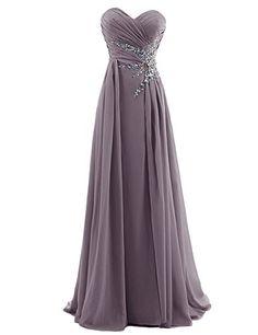 Missprom Women's Sweetheart Beading Floor-length Chiffon Prom Dress (US 22W, Grey) MissProm http://www.amazon.com/dp/B00U1ZIF06/ref=cm_sw_r_pi_dp_Axk-ub08E7JJT