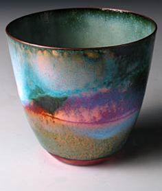 Enamelled Beaker by Pat Johnson