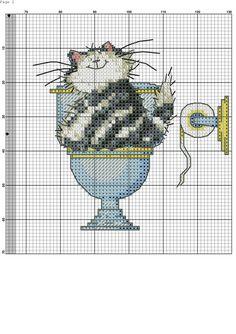 Embroidery Patterns Cat Margaret Sherry 17 New Ideas Cross Stitch Boards, Cross Stitch Love, Cross Stitch Animals, Cross Stitch Kits, Cross Stitch Designs, Cross Stitch Patterns, Cat Cross Stitches, Cross Stitching, Cross Stitch Embroidery