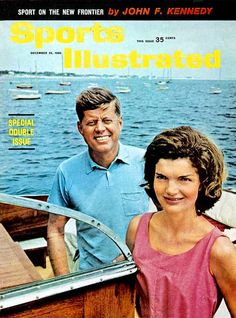 "The Kennedys on the cover of ""Sports Illustrated""."