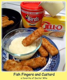 Today is April 3rd, and it's officially Fish Fingers & Custard Day! I never thought I would be writing about those two items, at...