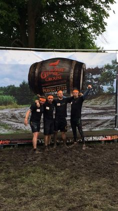 Scotland's Tough Mudder - 2014... Sam Heughan (far right)