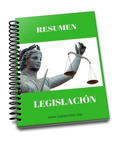 Legislación resumida para Auxiliares de Enfermería