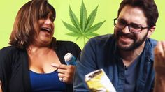 Mother And Son Smoke Weed Together For The First Time