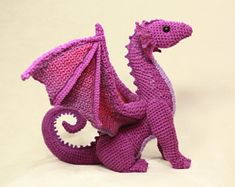 Dragon Amigurumi Patterns - Crochet Dragon Amigurumi Patterns Dragon Amigurumi Patterns – A Binge Worthy Life Crochet Dragon Pattern, Crochet Patterns Amigurumi, Crochet Dolls, Knitting Patterns, Crochet Gifts, Cute Crochet, Crochet For Kids, Knit Crochet, Crochet Animals