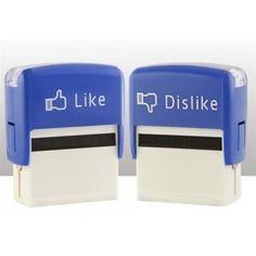 Tampons Facebook ink geek