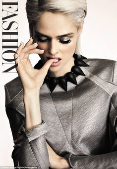 Coco Rocha stars on a variety of glamorous covers for the latest issue of Fashion Magazine