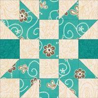 "Churn Dasher Quilt Block Tutorial - 5"", 7-1/2"", 10"" and 12-1/2"" blocks                                                                                                                                                      More"