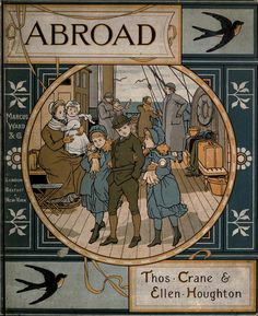 Abroad. Thos. Crane and Ellen Houghton