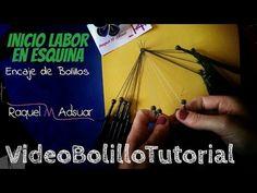 Punto Nuevo Encaje de Bolillos. Técnica Hinojosa Bolillotutorial Adsuar - YouTube
