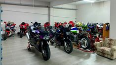 Living Room Motorcycles