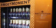 Moet & Chandon's latest champagne vending machine Champagne Brands, Best Champagne, Frank Sinatra Quotes, Vending Machine Business, Vending Machines, Wine Names, Wine Brands, Moet Chandon
