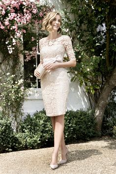 John Charles 2016 26060 wedding outfit perfect for modern mother of the bride dress and jacket in luxury jacquard with coordinated hat John Charles, Wedding Outfits For Groom, Wedding Bride, Wedding Reception, Wedding Ideas, Groom Outfit, Groom Dress, Knee Length Dresses, Dresses With Sleeves